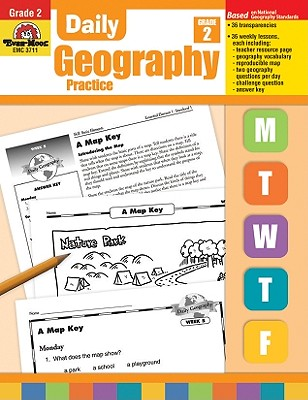 Daily Geography Practice, Grade 2 By Johnson, Sandi